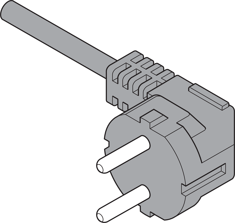 CABLE ENCHUFE EUROPA (Z10M200E)