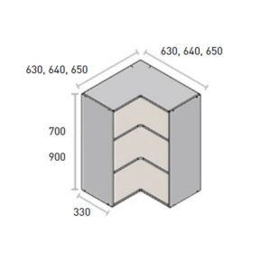 alto rincon angular reversible