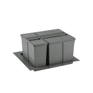 Sistema de reciclaje para caceroleros de cocina de 600 KPROcomponentes
