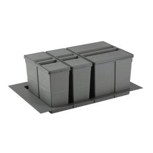 Sistema de reciclaje para caceroleros de cocina de 800 KPROcomponentes