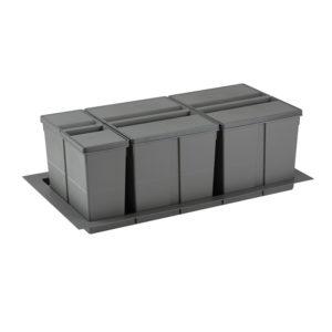 Sistema de reciclaje para caceroleros de cocina de 900 KPROcomponentes