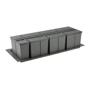 Sistema de reciclaje para caceroleros de cocina de 1200 KPROcomponentes